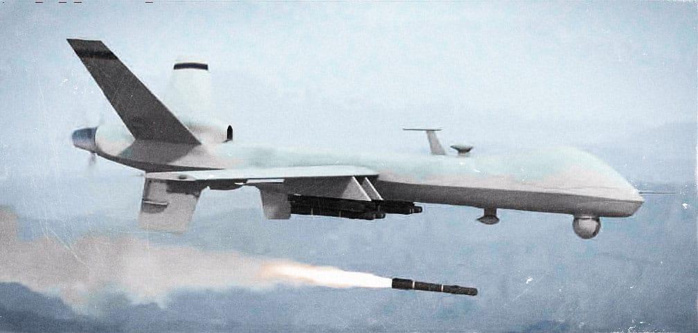 US Drohne im Einsatz