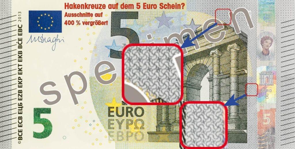 5 Euro Schein mit Hakenkreuzen ecb_5_euro_banknote_specimen_front_72dpi1-01