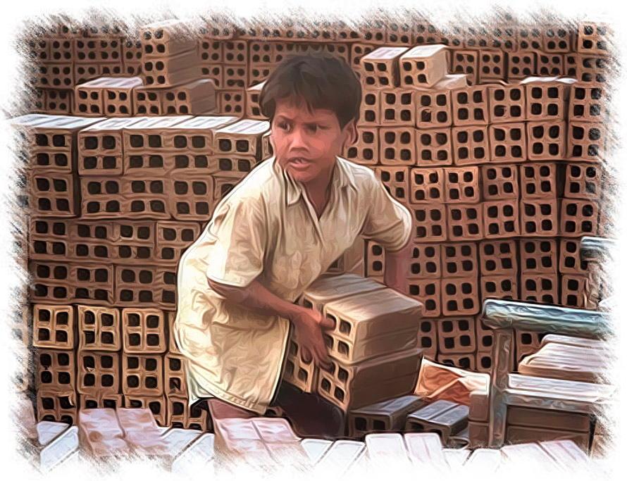 Kinderarbeit nix backe backe Kuchen Ausbeutung und sklaverei