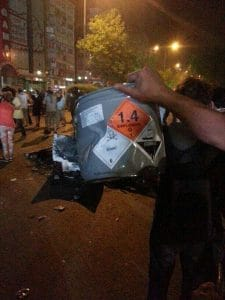Traenengas Tear Gas Giftgas Istanbul 2013 Juni
