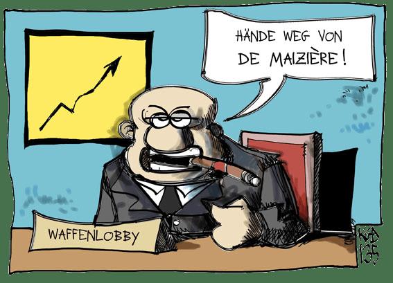 Waffenlobby_de_Maiziere_waffenhandel_waffenexport der tod ist ein meister aus deutschland