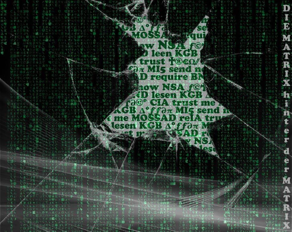 New World Stasi Datenkrake feiert längst Jahrzehnte des perpetuierenden Bestehens The Matrix behind hinter der Matrix