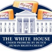 WhiteHouse_under_pressure_by_dutch_human_rights_cheese