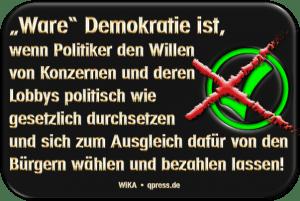 GrExit - Banken mahnen EU-Demokratiereform an Wahre Ware Demokratie72dpi