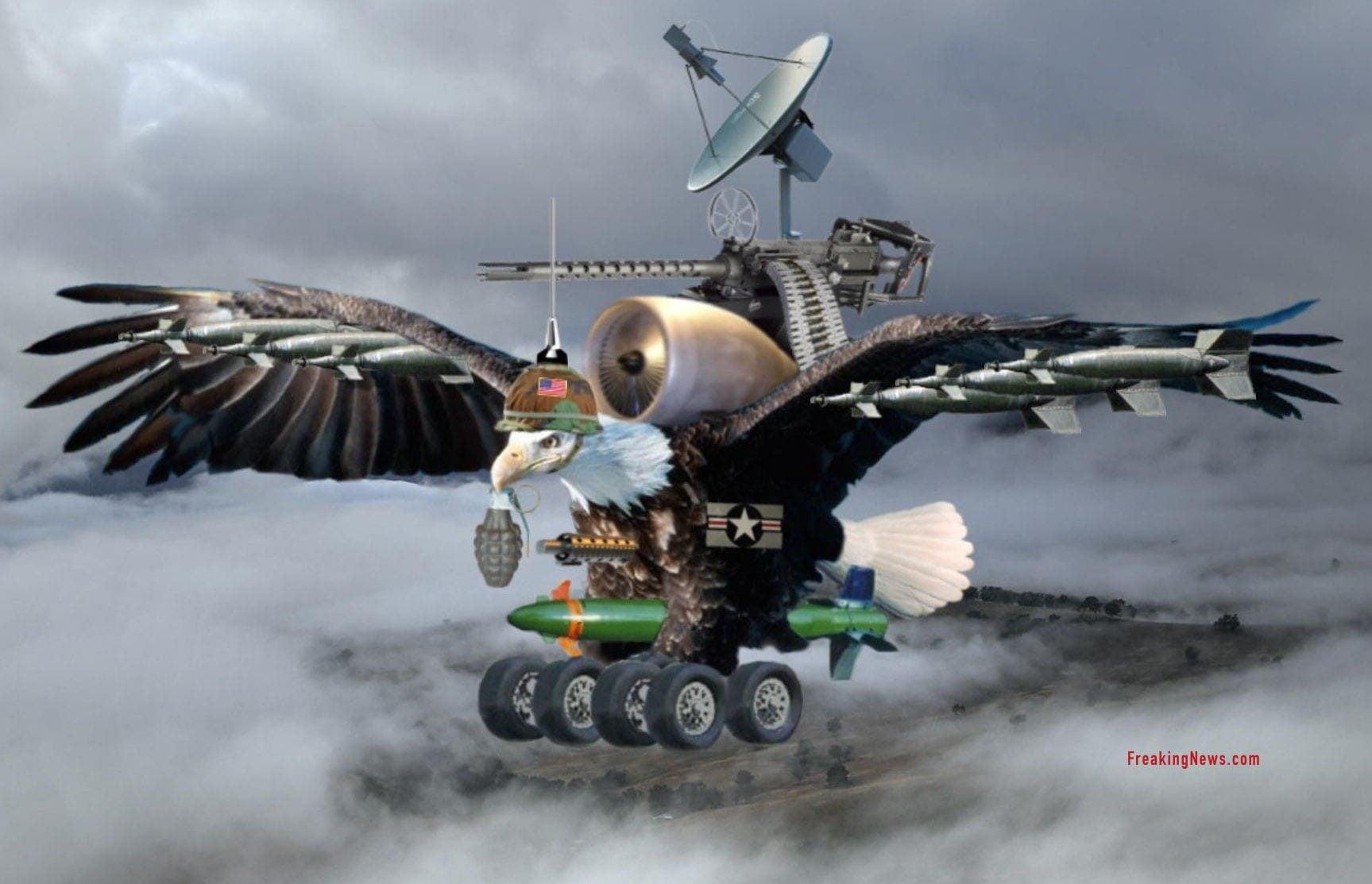 Merkel will US-Stützpunkt Ramstein schließen eagle-drone-drohne model USA NSA CIA official public release