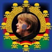 Angela Merkel Wiederwahl Monarchin 2013 Koenigin CDU EU-Kratie Diktatur Deutschland Titanic Untergang