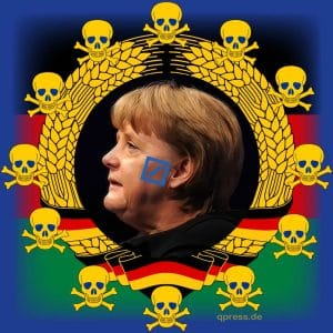 Unrechtsstaat Deutschland Angela Merkel Wiederwahl Monarchin 2013 Koenigin CDU EU-Kratie Diktatur Deutschland Titanic Untergang