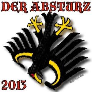 Bundestagswahl 2013 ungültig, macht aber nichts Bundesadler schwarz gelb Absturz ungueltige Wahl 2013 Wahlgesetz indirekte Demokratie