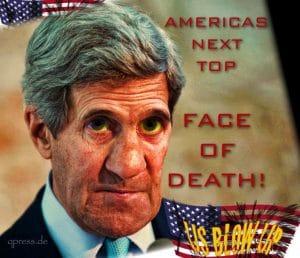 Ein US-Soldatenleben kostet 288.986.784,10 Dollar, Araber kaufen die Weltpolizei für Syrien Attacke John F. Kerry americas next top face of death Kriegstreiber