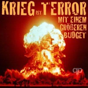 Krieg ist Terror mit einem groesseren budget qpress usa