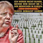 Merkel schmeißt hin, Suche nach parteilosem Generalschuldübernehmer für Kanzler-Job