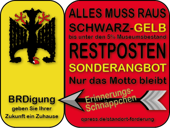 Schwarz-Gelb-Restposten qp-01