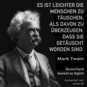 Twain Mark es ist leichter menschen zu taeuschen qpress
