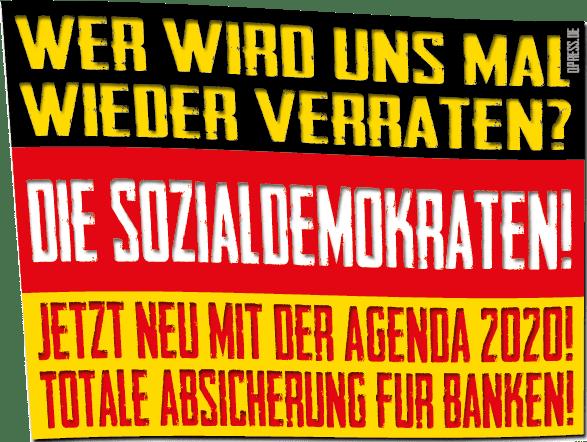 Wer hat uns verraten - die sozialdemokraten qpress