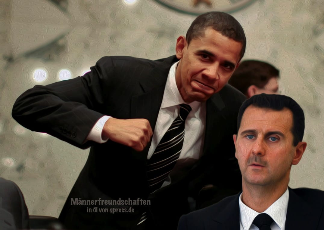 Durchblick - Barack Obamas Schreiben an Baschar al Assad geleakt U.S. Senator Barack Obama poses alongside Lugar at a Senate Committee in Washington