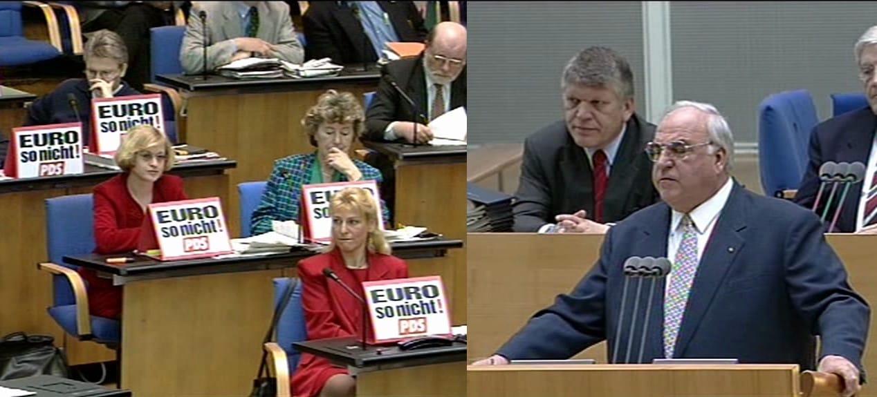 kohl_pds_euro_gegner_krtik_widerstand