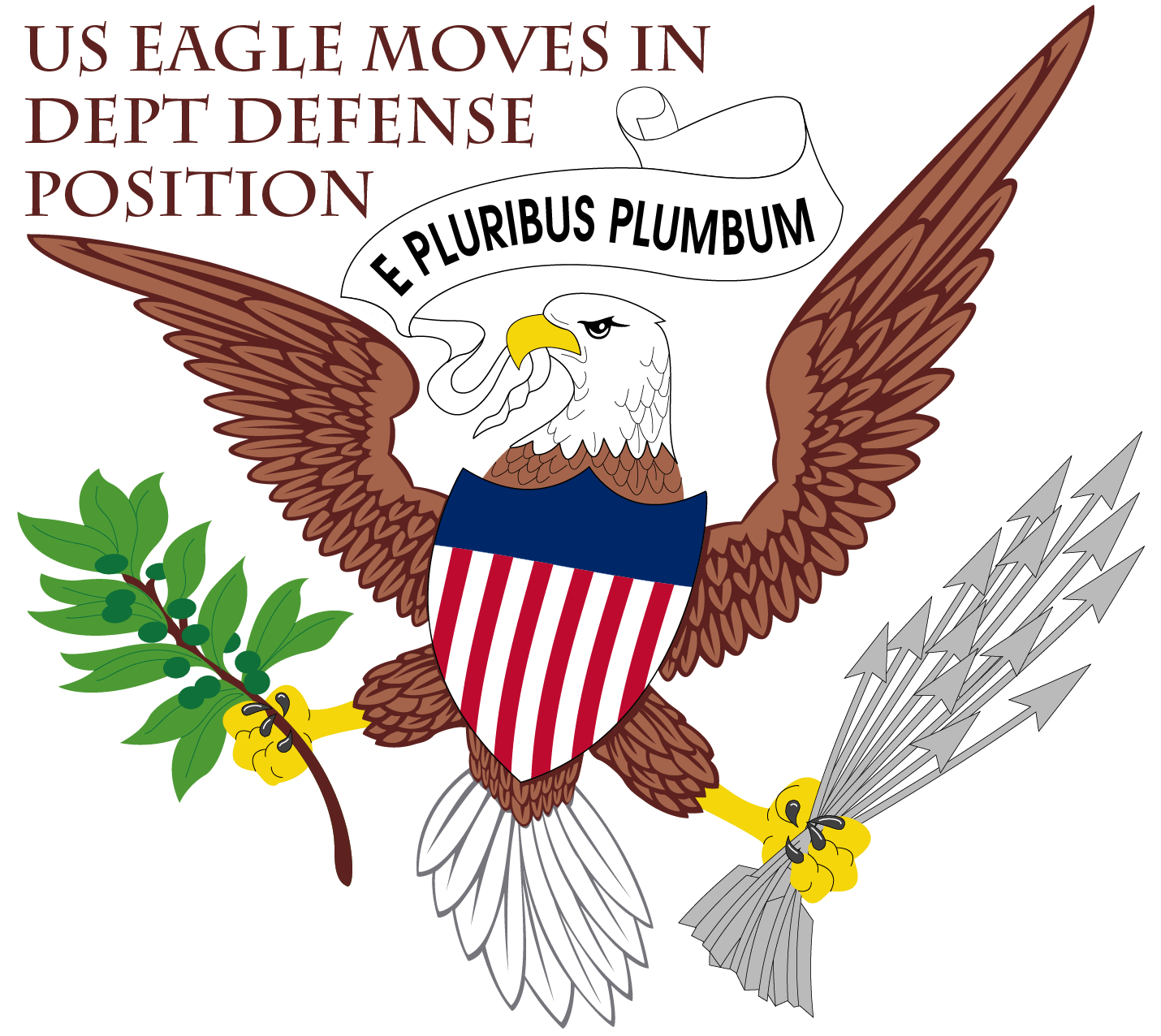 US Finanzministerium probt Untergang, oder rettet sich mit Notstand American Eagle kampf Adler solo Pleitegeier bankrott vogel