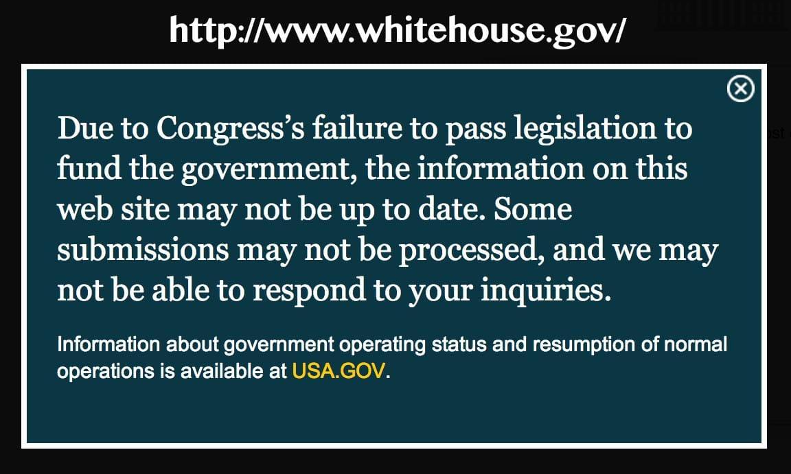 Bildschirmfoto 2013-10-02 Whitehouse down Obama on strike Kopie