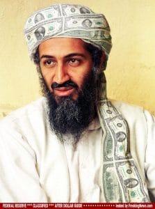 Tschüs, Bin Laden – dreimal tot hält besser Dollar-Money-Turban-geld-mode-bekleidung