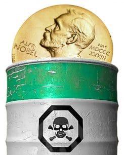 Der Friedensnobelpreis dient der Unterstützung von Krieg