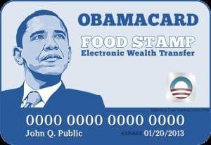 Verhungern mit Chip, wenn elektronische Lebensmittelmarken in den USA versagen US-obama-food-stamp-card-Obamacare-ObamaScare