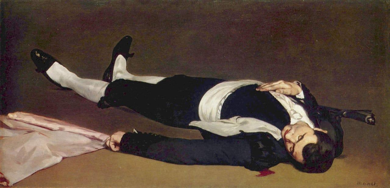 Völkermord statt Stierkampf als Weltkulturerbe der UNESCO Edouard_Manet_073_(Toter_Torero)
