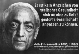 Krishnamurti Divers hat maßgeblichen Einfluss auf die Politik