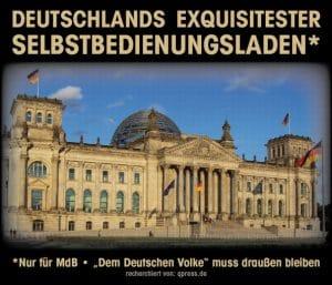 deutschland selbstbedienungsladen bundestag filz_korruption_bestechung_kluengel