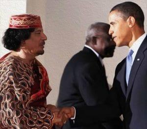 Erdoğan auf US-Abschussliste, türkischer Frühling noch diesen Herbst Barack Obama Muammar al Gaddafi Handschlag Todeskuss Mafia Verlogenheit oelbild qpress