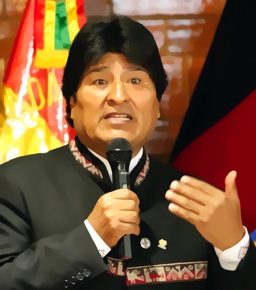"""Evo Morales als Vorreiter für Kinderarbeit Quito, Ceremonia de entrega de las """"Llaves de la Ciudad"""""""