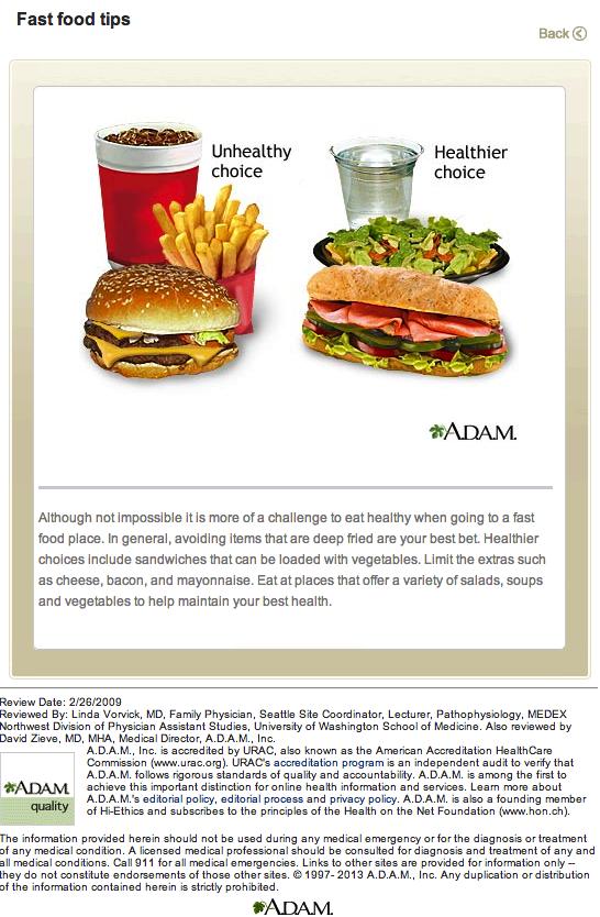 McDonald's rät eigenen Mitarbeitern zu Hells-Food Screen shot 2013-12-23 at 10.15.07 AM CBNC
