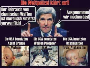 """Anfrage an Weißhelme, wann nächster Assad-Giftgasangriff """"gecastet"""" werden kann"""