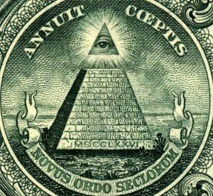 Das allesehende Auge zwinkert auch zu Weihnachten nicht, der Geheimdienst-Club one-dollar-pyramidcrop-allsehendes-auge-eine-welt-regierung-novus-ordo-seclorum-qpress