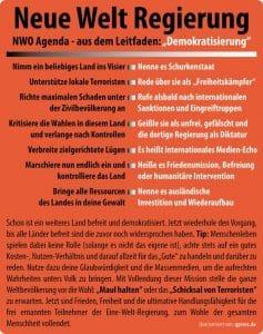 Deutsche Tornados direkt nach Damaskus verlegen NWO Leitfaden Demokratisierung Neusprech humanitaere Intervention Krieg ist Frieden