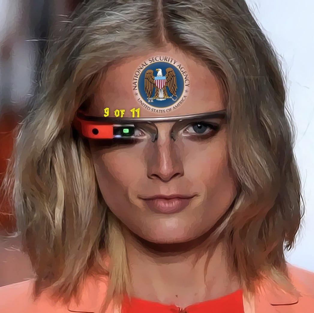Google-Brillen Träger stehen mit einem Bein im Gefängnis google glasses Brille Knast agents spys spione Datenbrille Verhaftung Spionage ungesetzlich Verbot Kino Raubkopie