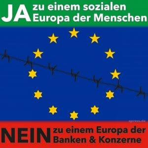 """Überwältigendes """"Jein"""" der Griechen sorgt für Klarheit Ja und Nein Europa der Menschen"""