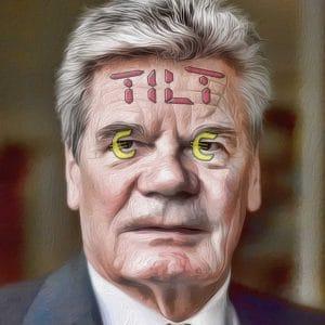 Gier-Gauck langt noch mal richtig ins Steuersäckel