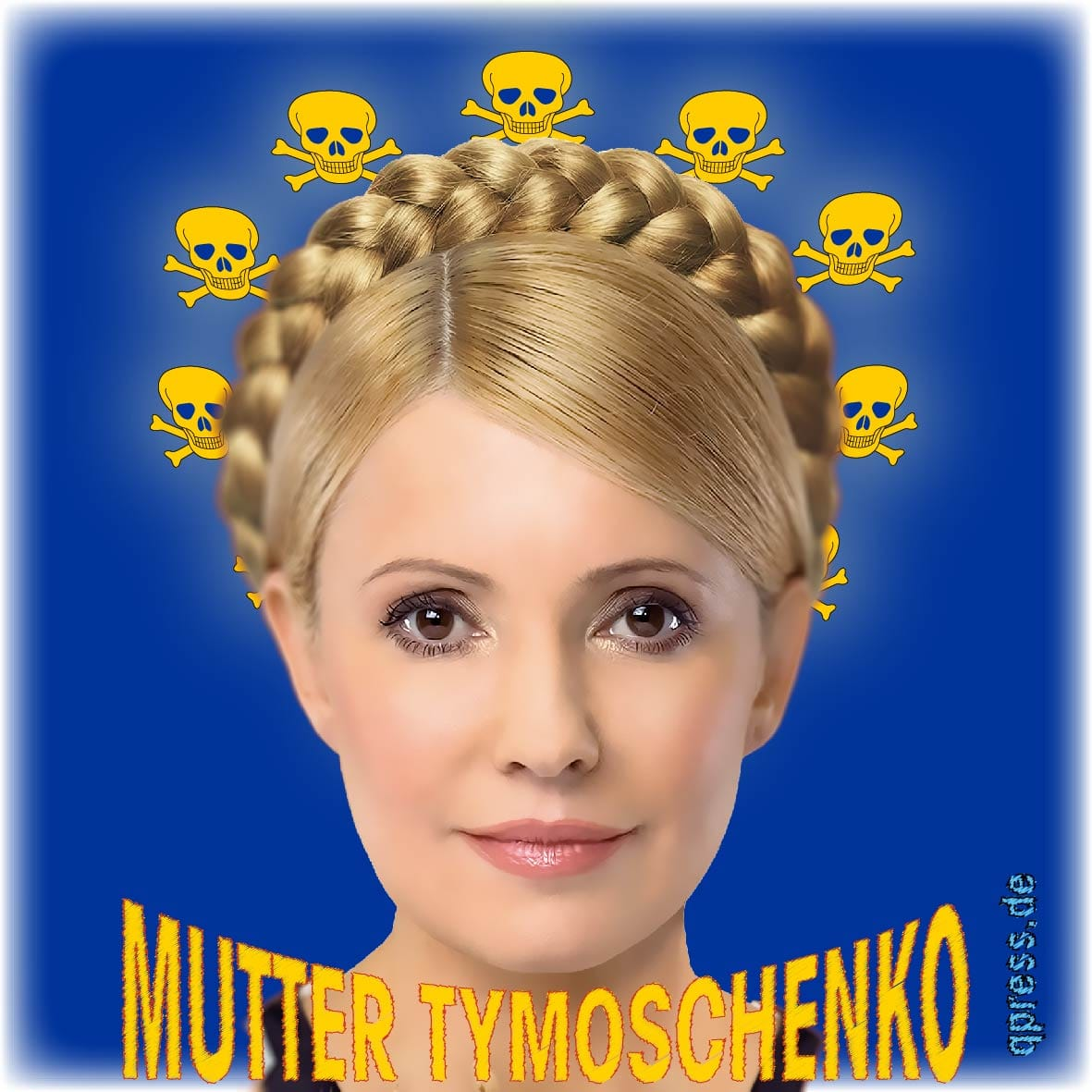 Es ist angerichtet: Klitschköstliches aus der Confi(e)serie West Julija Tymoschenko next EU Mum Mutter der EU-Volution-neues missbrauchtes Heldentum Ukraine qpress