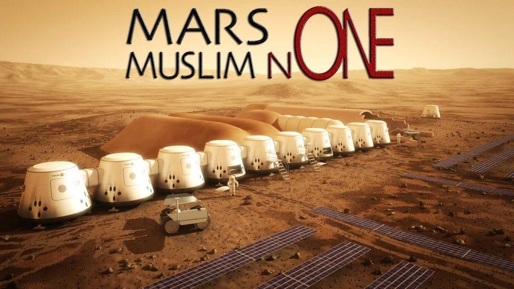 Keine Muslime auf dem Mars, Allahs menschengemachte Probleme Mars one muslim none keine muslime auf dem dem roten Planeten Fatwa Religion