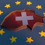Schweiz Freimauerfisch ein EU Fisch Becken