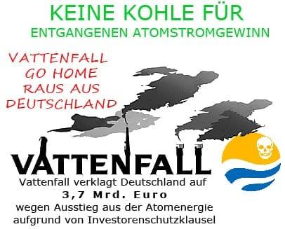Pitti und der Bundesdackel 07_antilobby_vattenfall_go_home konsumkritik kommerzialisierung ausbeutung energie