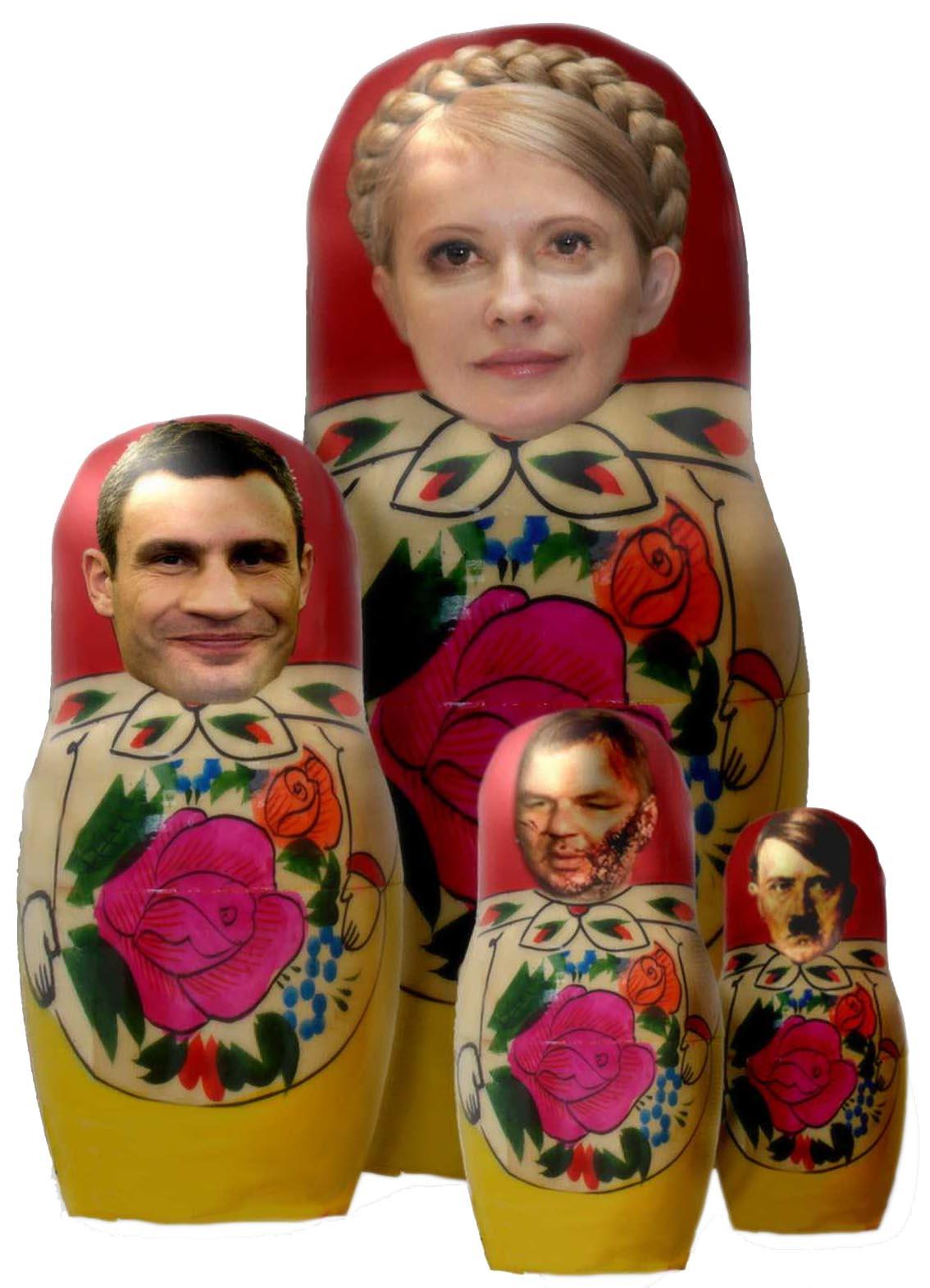 Matroschenko Matruschka klitschko timoschenko hitler Faschismus wiederkehr ukraine EU Europa Voelkerrecht Menschenrecht Demokratiepunkte qpress