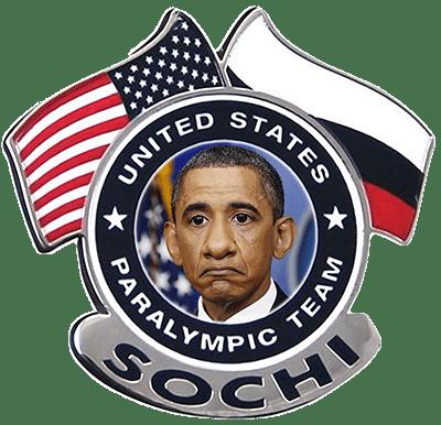 Versöhnungsgeste: Putin lädt Regierungschefs zur persönlichen Teilnahme an Paralympics ein United States paralympics team leader barack hussein obama most handycapt qpress idioten an der Macht