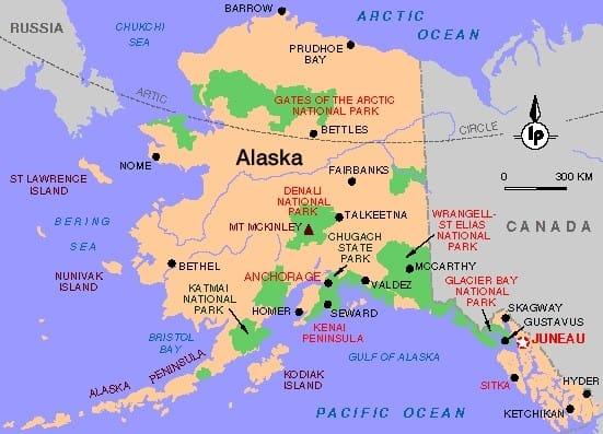 Alaska geht zurück an Russland, Rest an die Indianer, 300 Mio. Amerikaner heimatlos alaska-national-parks reservate for not native americans