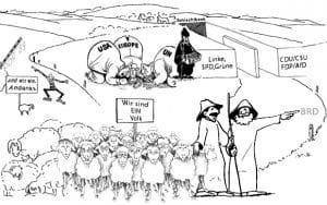 Der große Plan - Schachmatt Deutschland und Europa brd ddr das seltsame verhaeltnis einfach dargestellt
