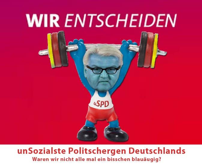Blätterwaldsterben, trostloser Rundgang durch den deutschen Lügen-Märchenwald die Unsozialsten Steinmeier SPD Deutschland stemmen Schwachmaten in der Politik GroKo Ausmister Aussenminister