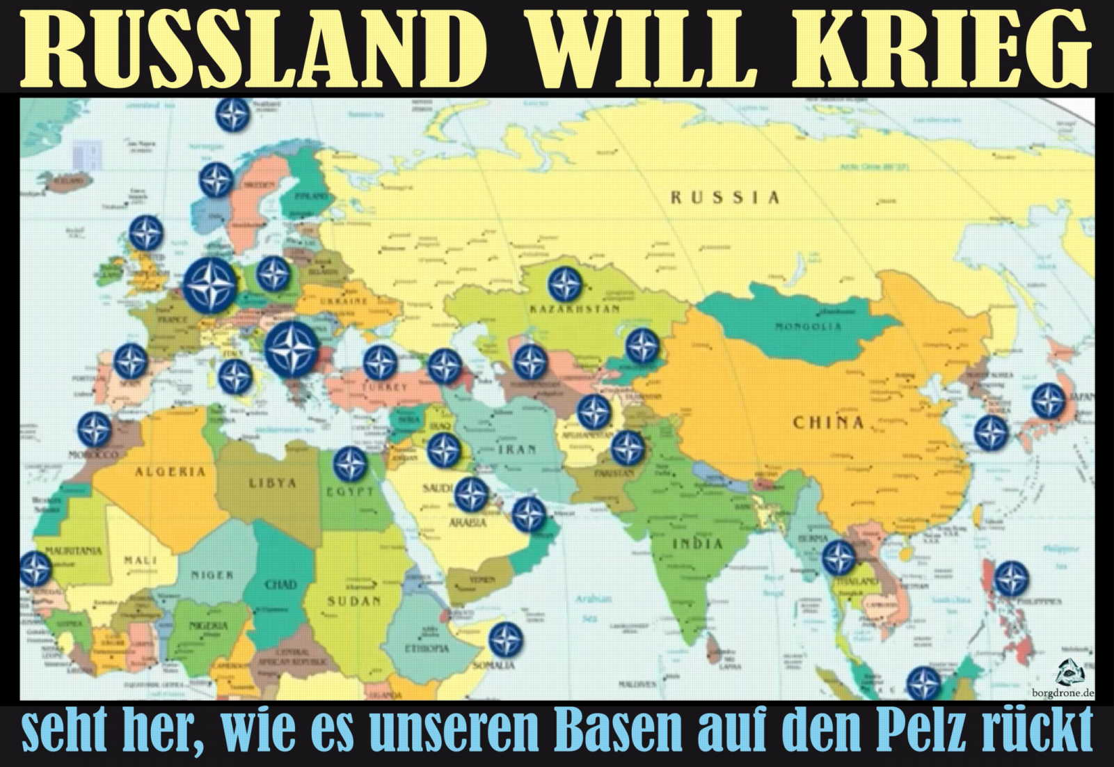 russland will krieg friedenshetzer us basen bedroht verteidigungskrieg humanitaere mission intervention qpress