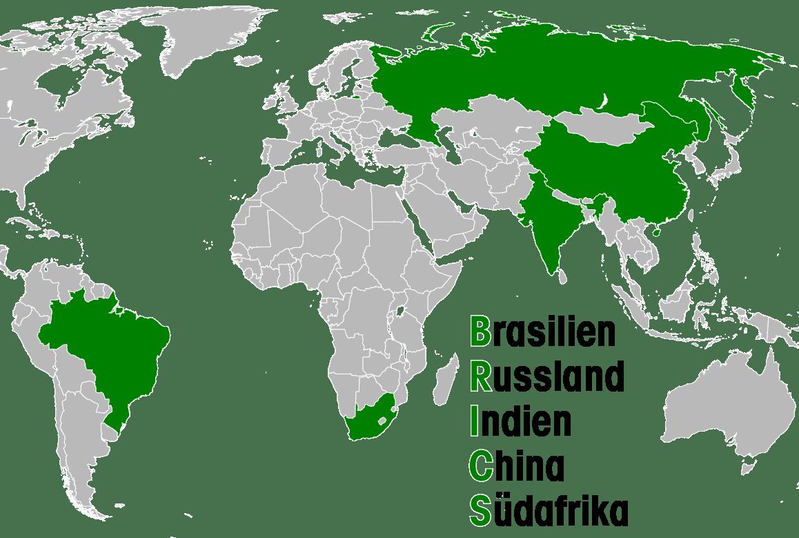BRICS-Staaten Brasilien Russland Indien China Suedafrika-01