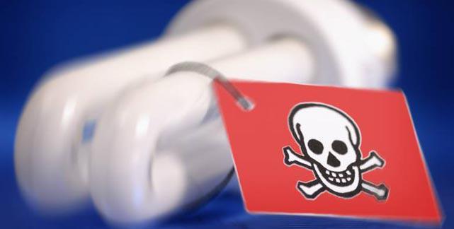 Giftgasgranaten im Wohnzimmer Quecksilber in den Energiesparlampen
