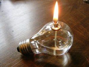 """Vorsicht Licht - die neue Gefahr: """"Erleuchtung""""!"""
